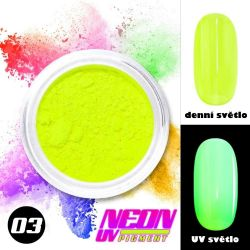 NEON UV pigment - neonový pigment v prášku 03 (A)