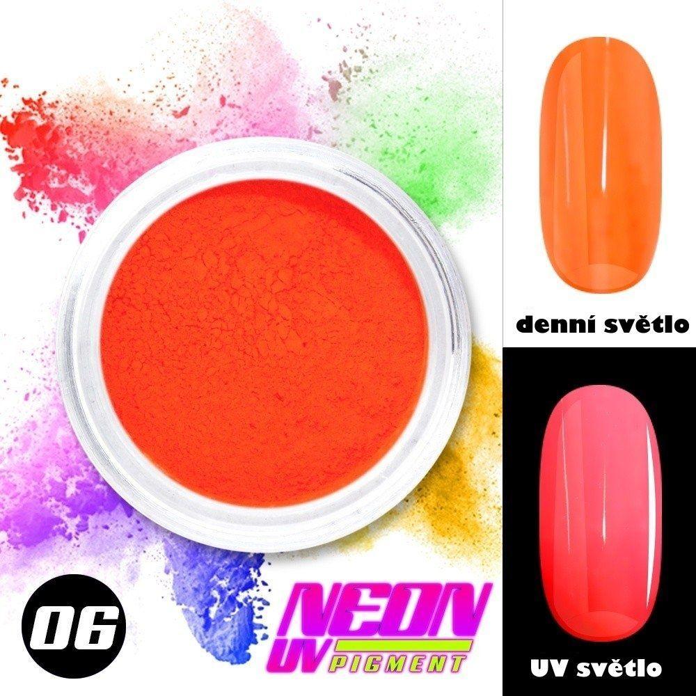 NEON UV pigment - neonový pigment v prášku 06