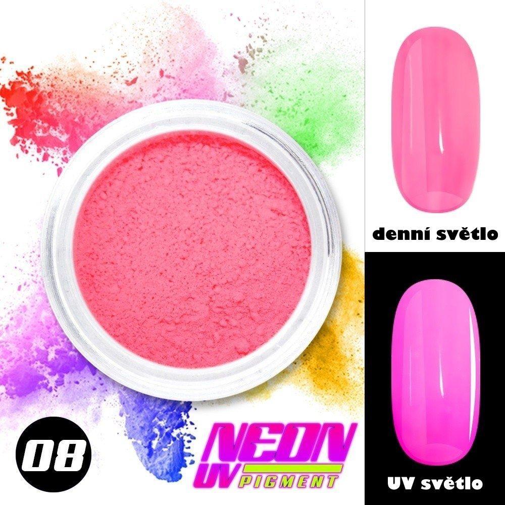 NEON UV pigment - neonový pigment v prášku 08