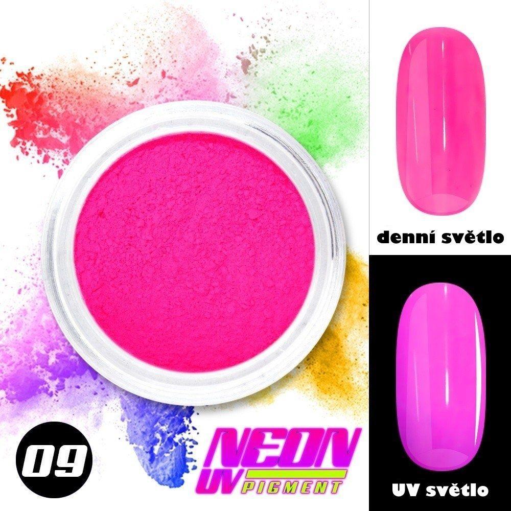 NEON UV pigment - neonový pigment v prášku 09
