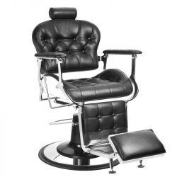 Barbers - holičské křeslo GABBIANO PREMIER černé (AS)