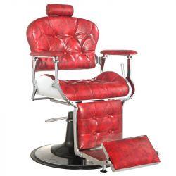 Barbers křeslo GABBIANO PREMIER červené (AS)