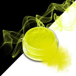 Nehtový pyl SMOKE NAILS - smoke efekt 03 NEON YELLOW (A)