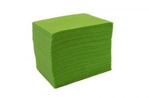 Skládané lékařské ubrousky s fólií 33x48 - 50ks zelené (EU)