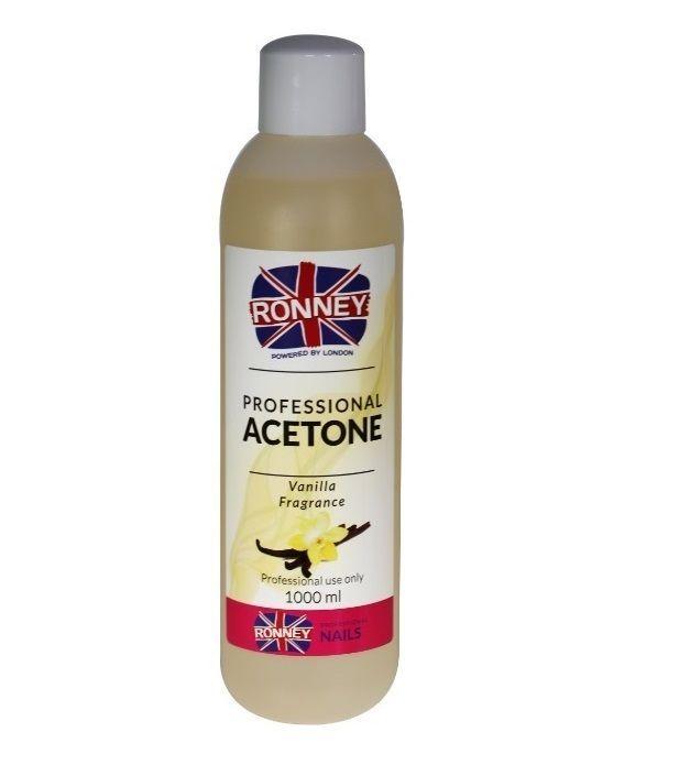 Kosmetický aceton, odstraňovač gelu 100ml - vanilka