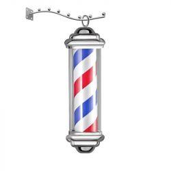 Osvětlená reklama pro barbershop - malá (AS)