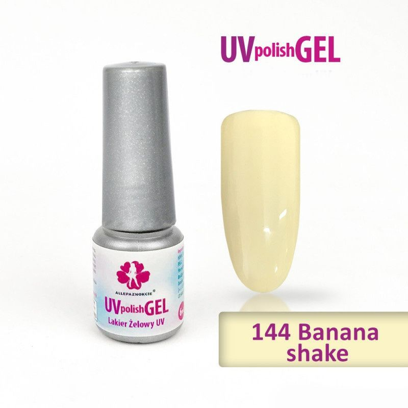 144.Uv gel lak Banana shake 6 ml