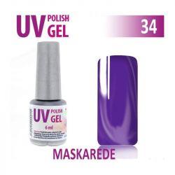 34.UV gel lak hybridní MASKAREDE 6 ml (A)