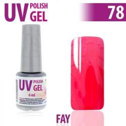 78.UV gel lak ne nehty hybridní FAY 6 ml (A)