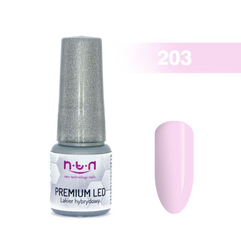 203.NTN Premium Led lak na nehty - 6 ml