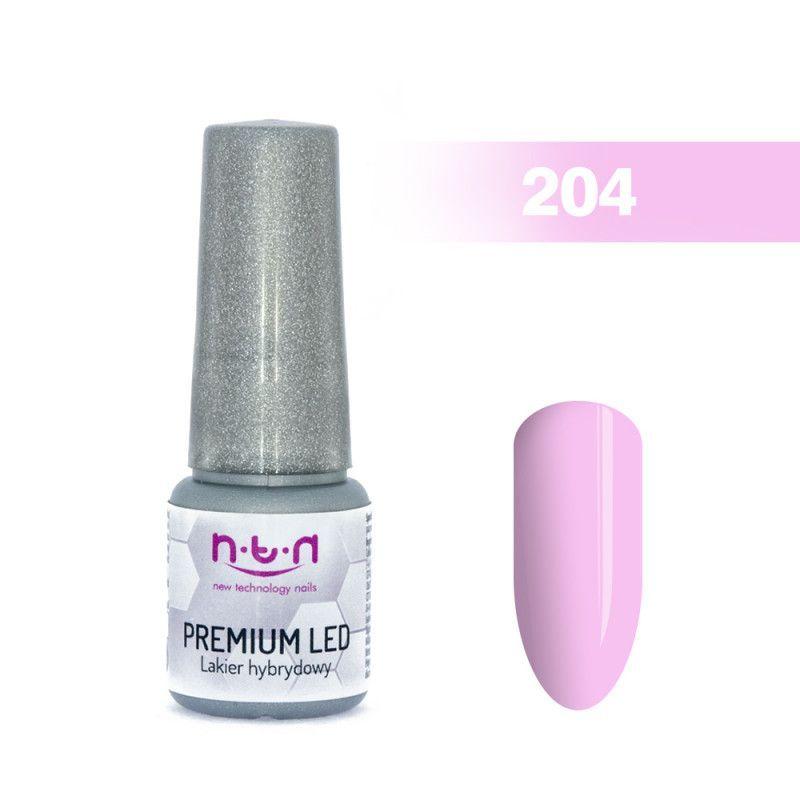 204.NTN Premium Led lak na nehty - 6 ml
