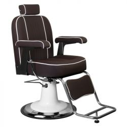 Barbers křeslo AMADEO  hnědé (AS)