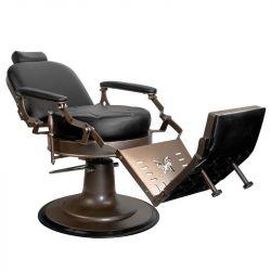 GABBIANO Barbers křeslo Black Star