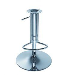 Kompletní podstava k barovým židlím  (základna, krytka, píst, stupačka) - VPT