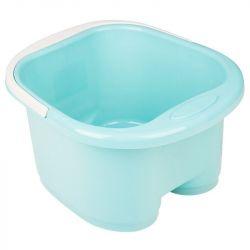 Hluboká vanička pro pedikúru s masážními válečky- modrá