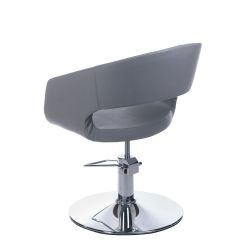Kadeřnické křeslo Paolo BH-8821 světle šedé