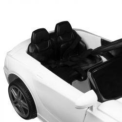 Dětské kadeřnické křeslo - autíčko PORSCHE - bílé