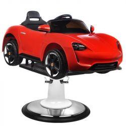 Dětský kadeřnický automobil PORSCHE B041C červený