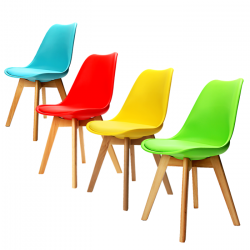 Jídelní židle Bali - žlutá