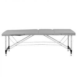 Skládací masážní stůl KOMFORT 3 - šedý